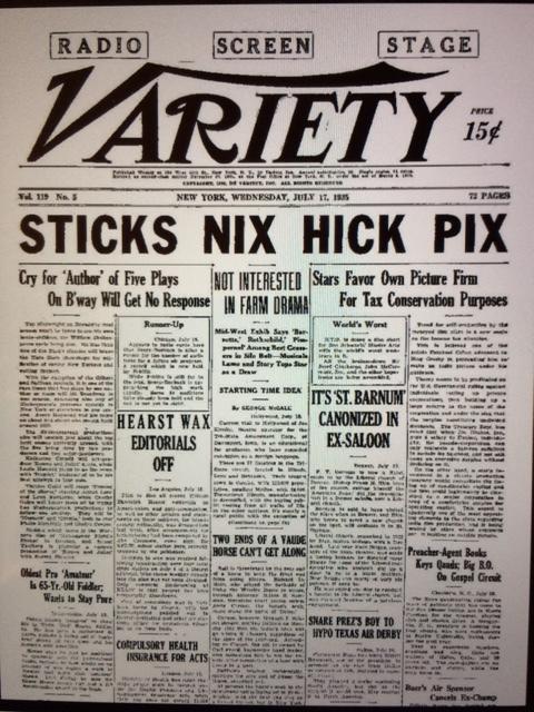 Sticks Nix Hick Pix
